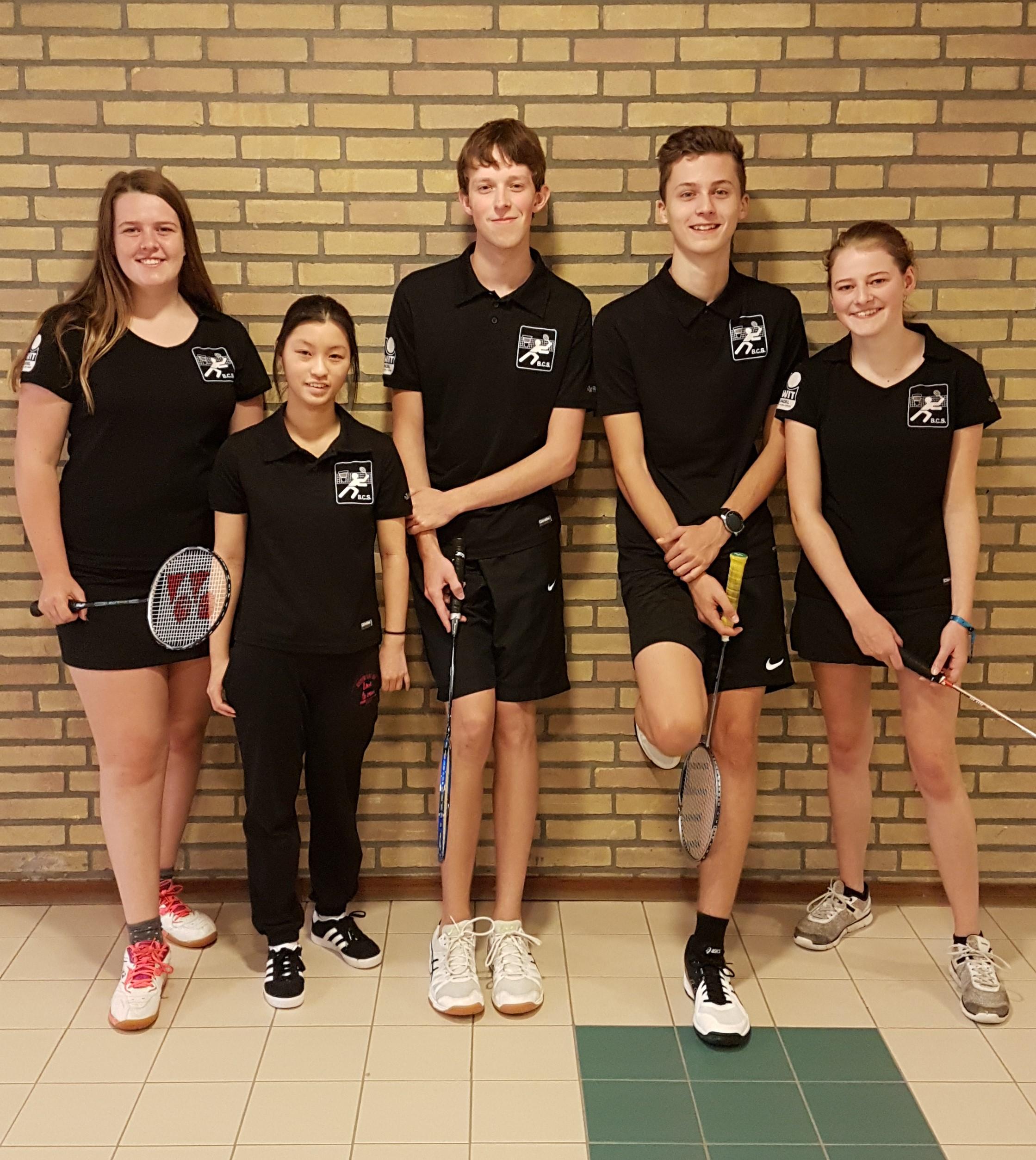 Team foto U19 2019-2020 - site